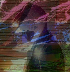 Portrait - Digital Image by Marg Herder