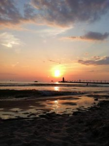 """Sunset Over the Pier"" - Photo by Lisa DeWeese"