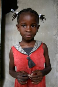 Haitian Girl - Photo by Don Miller