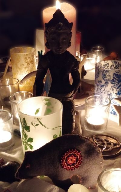 """The Goddess by Candlelight"" - Photo by Marg Herder"