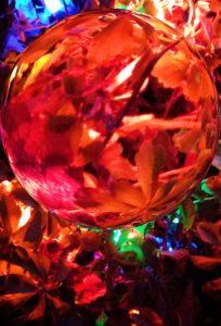 """Holiday Lights"" - Digital Image by Marg Herder"