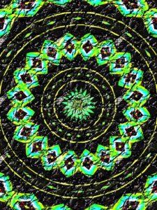 """Mosaic"" - Digital Image by Marg Herder"