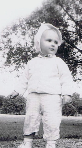 Diana Ensign as a child