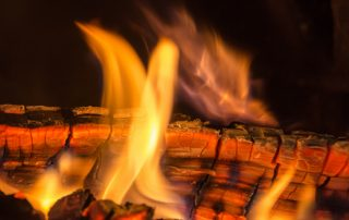 Yule Log - Photo by Marg Herder
