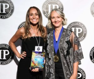 Indigo and Diana Ensign at the 2018 IPPY Awards