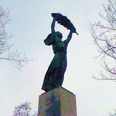 Liberty Statue in Budapest - Photo by Diana Ensign
