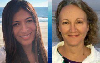 Diana Ensign and Valeria Teles